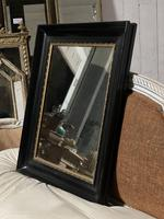 French Ebonised 19th Century Wall Mirror (8 of 16)