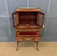 19th Century French Kingwood Bonheur Du Jour (10 of 23)