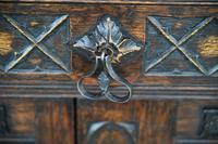 Gothic Revival Oak Cupboard (5 of 12)