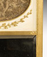 Late 19th Century French Giltwood Trumeau Mirror (2 of 5)