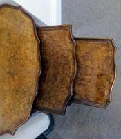 Burr Walnut Nest of Tables (5 of 7)