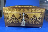William IV Rosewood Tea Caddy (7 of 13)