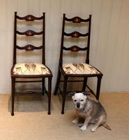 Pair of Beechwood Art Nouveau Chairs (3 of 10)
