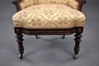 Victorian Rosewood Ladies & Gents Armchairs (21 of 22)