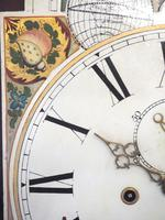 Fine English Longcase Clock D Cowed Manchester 8-day Striking Grandfather Clock Solid Mahogany Case (15 of 19)