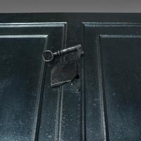 Antique Strongbox, English, Cast Iron, Safe, Deposit Case, Victorian c.1850 (7 of 12)