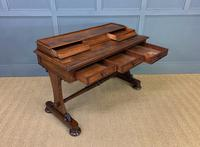 Early Victorian Mahogany Side Table (15 of 17)
