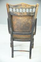 Early 20th Century Beech Occasional Chair (5 of 8)