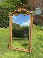 French Shaped Gilt Mirror (5 of 5)