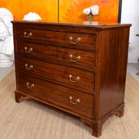 Chest of Drawers Victorian Mahogany 19th Century Straightedge (4 of 9)