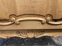 French Bleached Oak Side Cupboard (10 of 16)