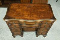 Antique Serpentine Front Walnut Desk (3 of 10)