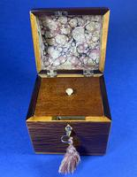 George III Partridge Wood Tea Caddy (4 of 12)