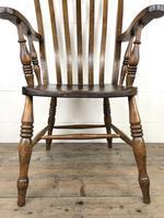 Victorian Ash & Elm Windsor Armchair (8 of 12)