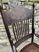Antique American Armchair with Steamed Bentwood Arms (5 of 14)