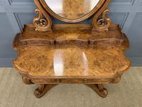 Victorian Period Burr Walnut Duchess Dressing Table (6 of 18)