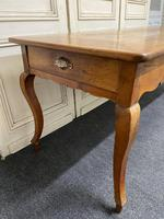 French Fruitwood Farmhouse Dining Table (12 of 15)