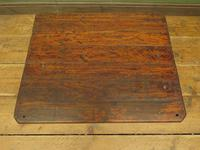 Small Industrial Antique Vono Cart Trolley Coffee Table with Bakelite Castors (2 of 17)