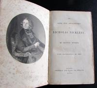 1839 Charles Dickens 1st Edition of Nicholas Nickleby (2 of 5)