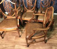 Quality Set of Eight Mahogany Dining Chairs (12 of 18)