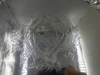 Antique George III Silver Salver London 1754 by Richard Rugg (3 of 9)