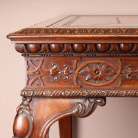 Superb Quality Mahogany Chippendale Design Writing Table (11 of 23)