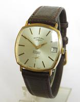 Gents 9ct Gold Rotary Wrist Watch