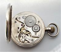 1928 Silver J.B.Yabsley, London Pocket Watch (5 of 5)
