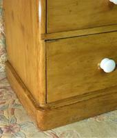 Antique Stripped Pine Chest of Drawers (4 of 9)