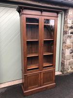 Arts & Crafts Glazed Oak Bookcase (6 of 11)