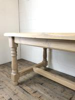 Vintage Antique Pine Farmhouse Kitchen Table (18 of 18)