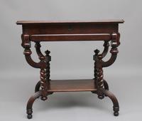 Early 20th Century Metamorphic Oak Desk (4 of 8)