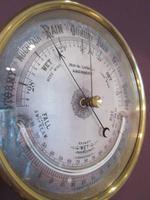 Victorian Aberdeen Marine Barometer & Thermometer (3 of 6)