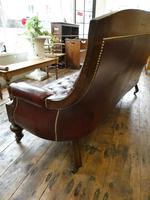 19th Century Aesthetic Leather Sofa (7 of 11)