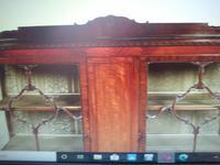 Astragal Display Cabinet. Victorian c.1880 (5 of 8)