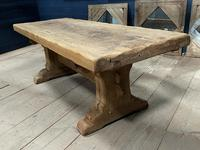 Superb Very Rustic French Oak Bleached Oak Farmhouse Dining Table (12 of 32)