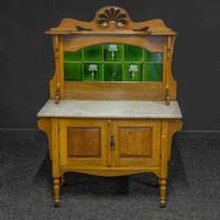 Victorian Oak Washstand (9 of 11)