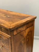 Early 19th Century Burr Elm Commode (7 of 7)