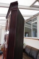 Flame Mahogany Formal Corner Cupboard 1780 splits into 2 (8 of 10)