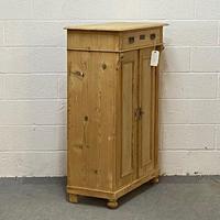 Antique Pine Vertigo Cupboard (3 of 4)