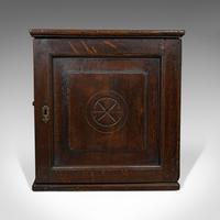 Antique Tea Cabinet, English, Oak, Spice, Apothecary Case, Georgia  c.1800 (9 of 12)