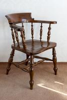 Early 19th Century Smokers Bow Chair in Ash (2 of 5)