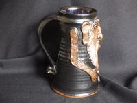 Give the Male, Good Strong Ale, Pottery Face Mug (2 of 5)