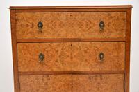 Antique Burr Walnut  Chest on Cabinet (3 of 12)