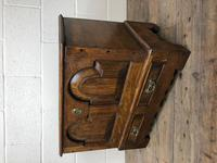 Antique 18th Century Style Welsh Oak Coffer Bach (9 of 14)