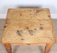 19th Century Pine Dining Table Fitted Drawer (11 of 11)