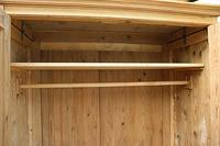 Fabulous & Large Old Pine 'Knock Down'  Double Wardrobe (8 of 15)
