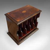 Antique Stationery Rack, Mahogany, Desk, Correspondence, Asprey London c.1910 (6 of 12)