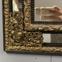 Large 19th Century French Repousse Mirror (2 of 7)