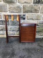 Antique Mahogany Butlers Tray on Stand (8 of 8)